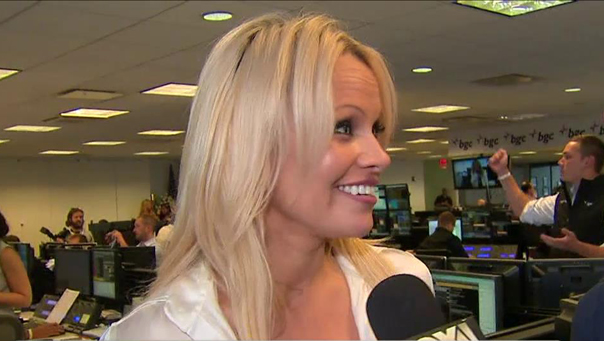 Pamela Anderson on BGC Charity Day