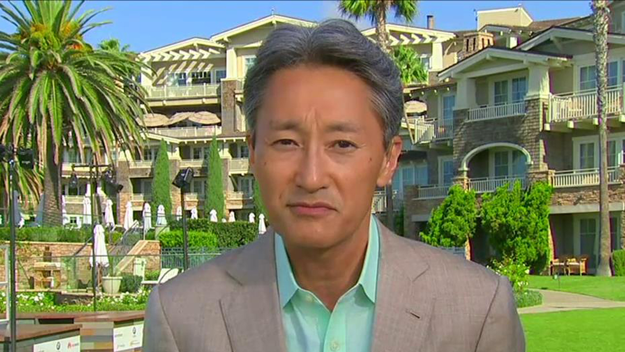 Sony Corporation President and CEO Kazuo Hirai on virtual reality, the Sony hack attack and the future of the company.
