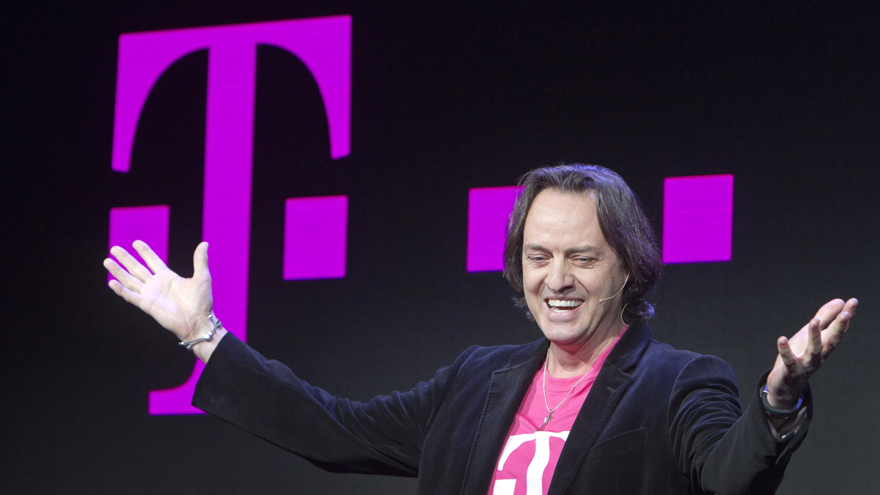 T-Mobile CEO John Legere on the company, the cable industry and Apple.