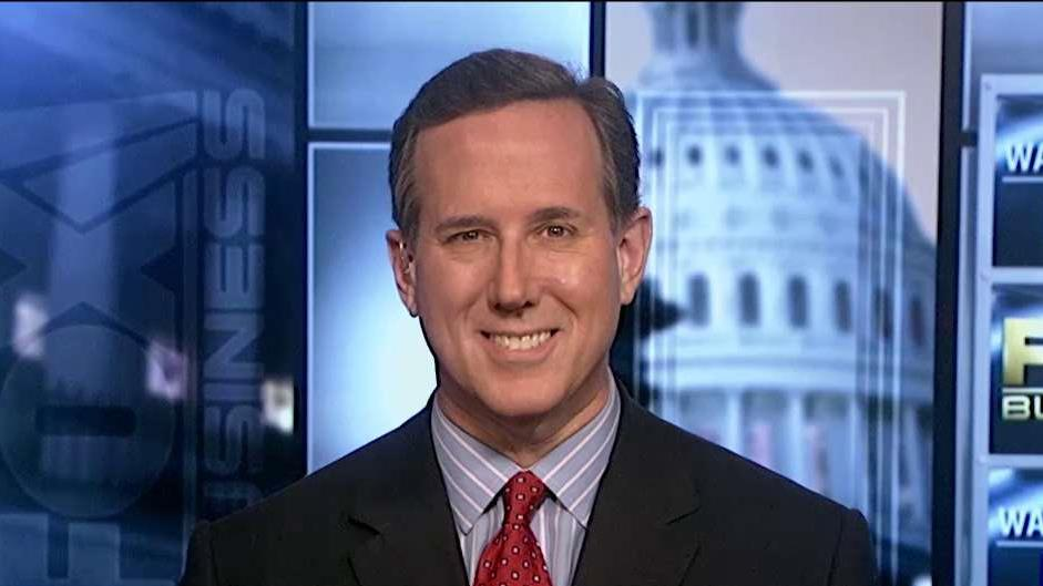 GOP presidential candidate Rick Santorum on his 2016 bid.
