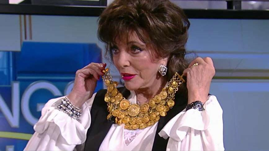 Actress Joan Collins on her decision to put a portion of her wardrobe and jewelry collection up for auction.