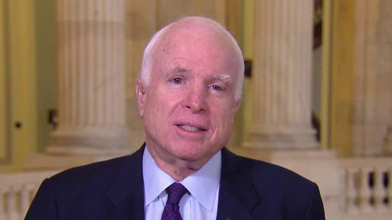 Senator John McCain, (R-Ariz.), discusses why he believes the Russian rocket provision is so bad.