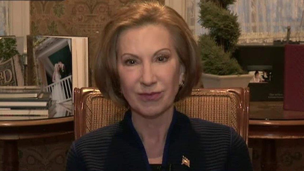 Republican Presidential candidate Carly Fiorina on the polls, outsider candidates, women voters and the next Republican debate on FOX Business.