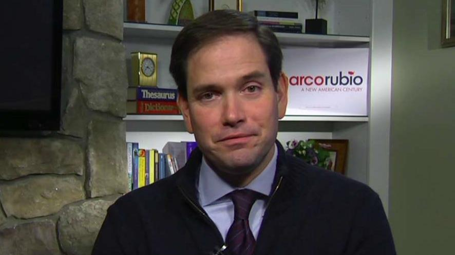 Presidential candidate Senator Marco Rubio, (R-Fla.), discusses why he is running for president.