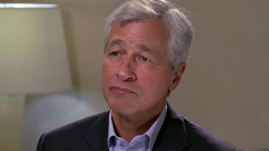 JPMorgan Chase CEO Jamie Dimon on the areas of investment growth, the benefits of JPMorgan's size and the importance of big data.