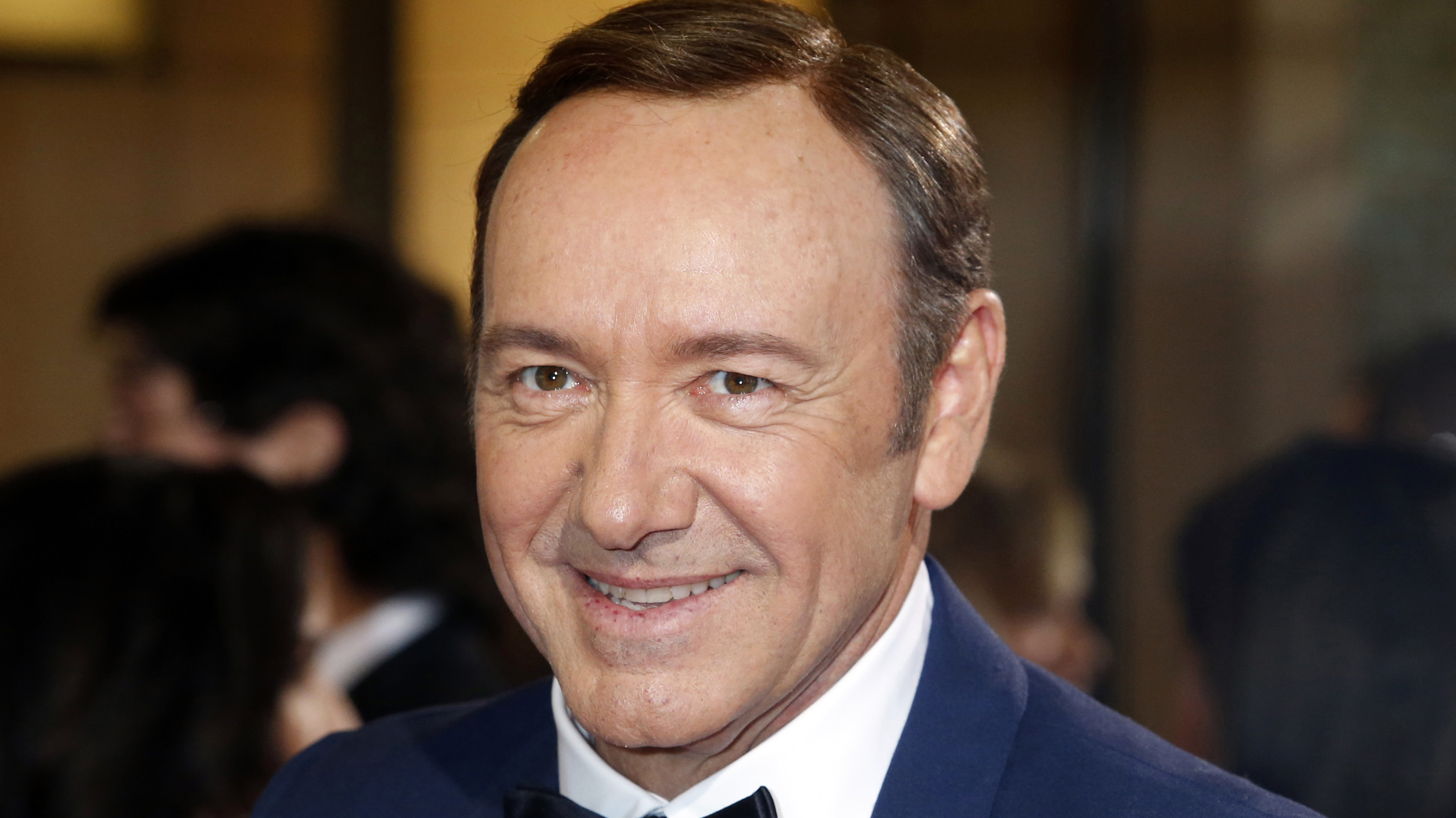 Actor Kevin Spacey and WISeKey CEO Carlos Moreira on efforts to improve cyber security and protect information.