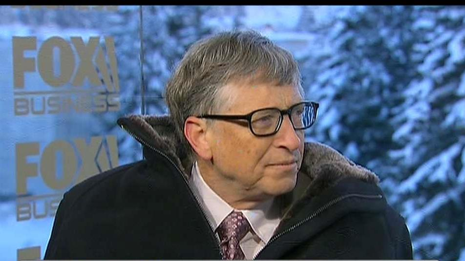 Microsoft founder Bill Gates on drones, start-ups, artificial intelligence and privacy versus security concerns.