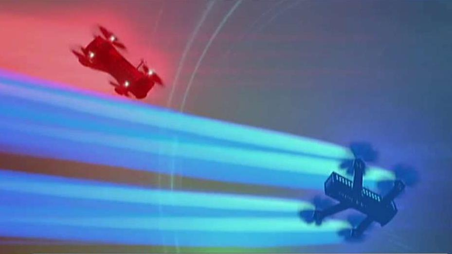 Drone Racing League CEO Nicholas Horbaczewski on the new sport of drone racing.