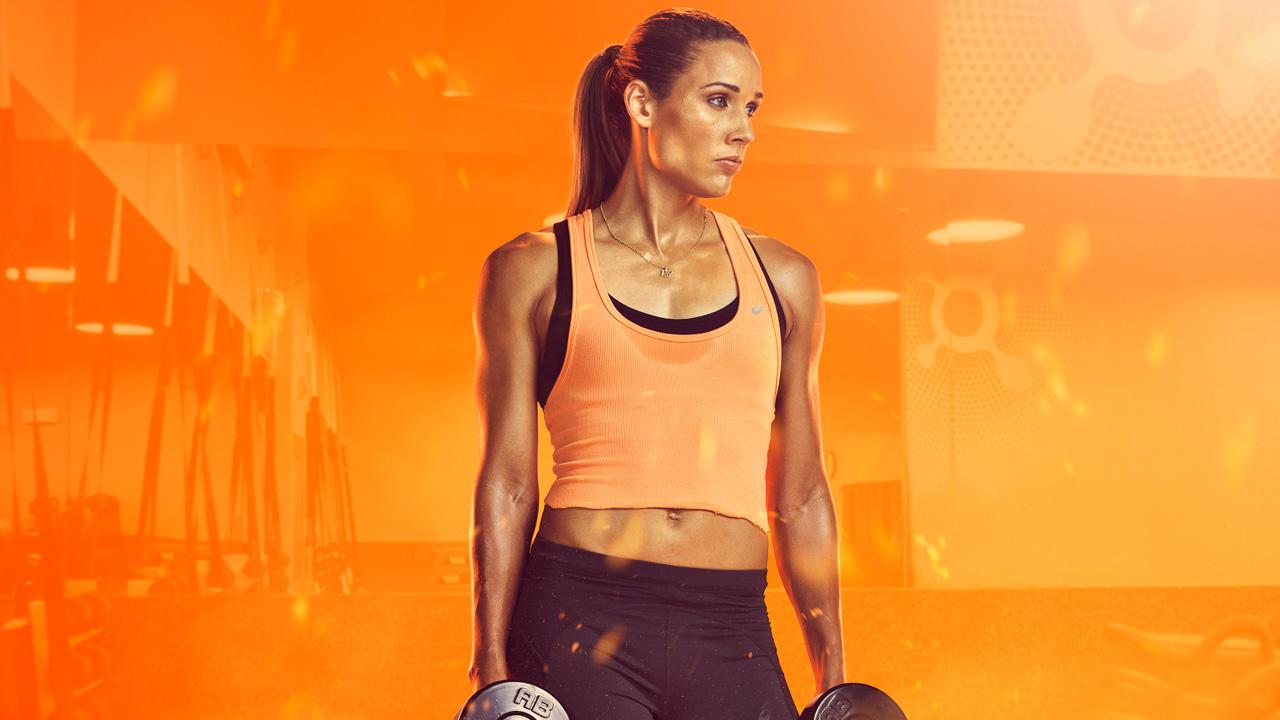 Olympian Lolo Jones is the new brand ambassador for Orangetheory fitness.