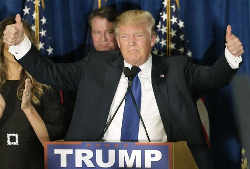Presidential candidate Donald Trump discusses his considerations for a running mate if he were a the GOP nominee, his reaction to Iran releasing images of U.S. sailors crying, and the possibility of a Bloomberg run.