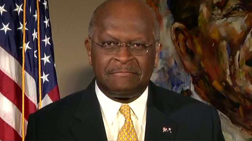 Herman Cain: They ought to stop trying to derail Trump