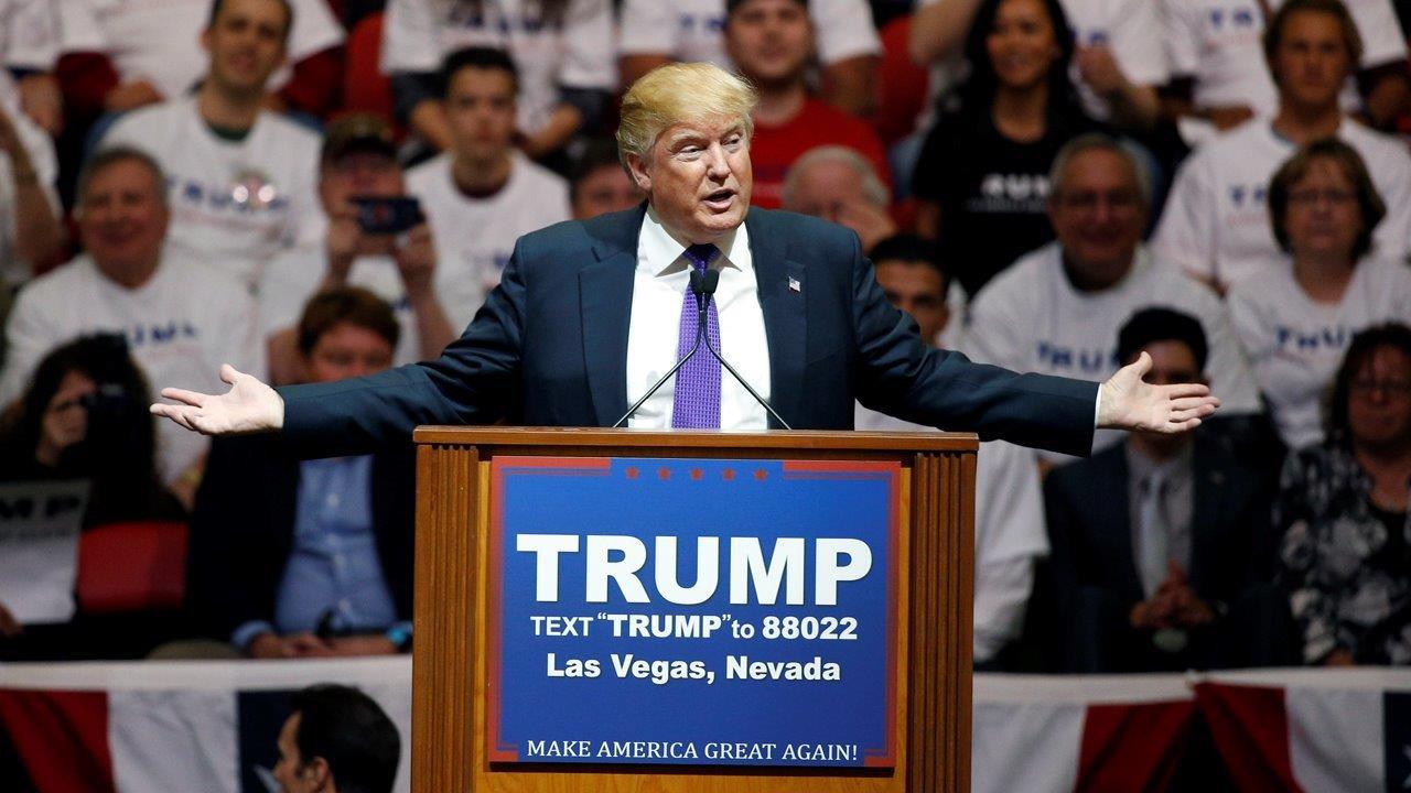 Former 'Celebrity Apprentice' contestant Clay Aiken on Donald Trump's presidential bid.