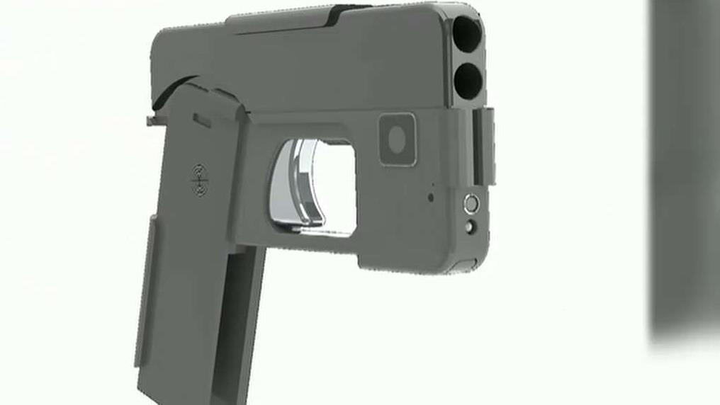 Ideal Conceal CEO Kirk Kjellberg discusses why he invented a gun to look exactly like a smartphone.