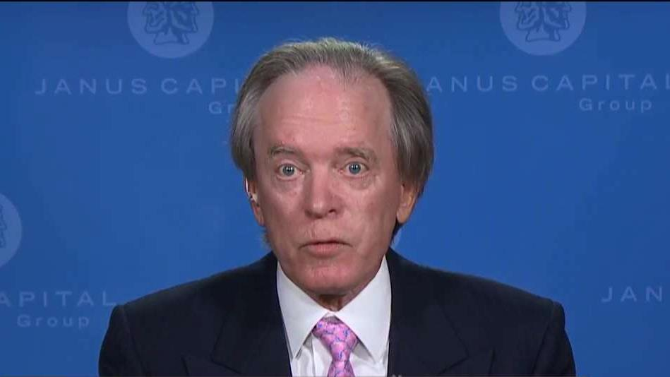 Janus Capital Portfolio Manager Bill Gross on the markets and how banks and insurance companies are impacted by lower interest rates.