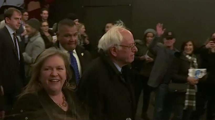 Jane Sanders, wife of Democratic candidate Bernie Sanders, said there's no doubt that the closed primaries have kept a substantial number of votes from her husband, and said the election system needs to be overhauled.
