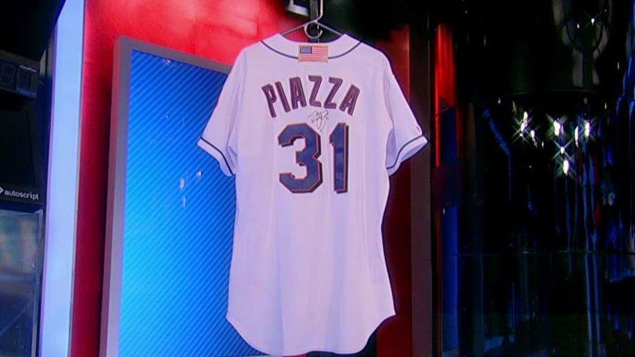 Ken Goldin of Goldin Auctions on the auction and uproar over former New York Mets catcher Mike Piazza's post 9/11 jersey.