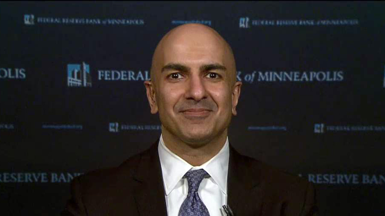 In a FOX Business exclusive, Neel Kashkari, Minneapolis Federal Reserve president, discusses his push to end too big to fail – legislation enacted to prevent financial crises and enforce transparency of the financial system.
