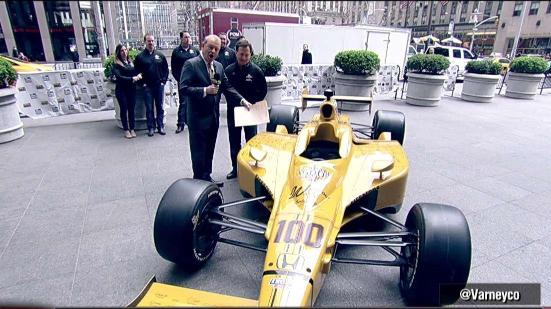 American race car driver John Andretti on putting an IndyCar up for auction with 100% of the proceeds being donated to St. Jude Children's Research Hospital. .