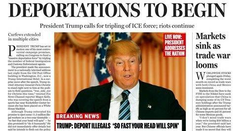 Boston Globe editor on fake 'Trump Presidency' front page