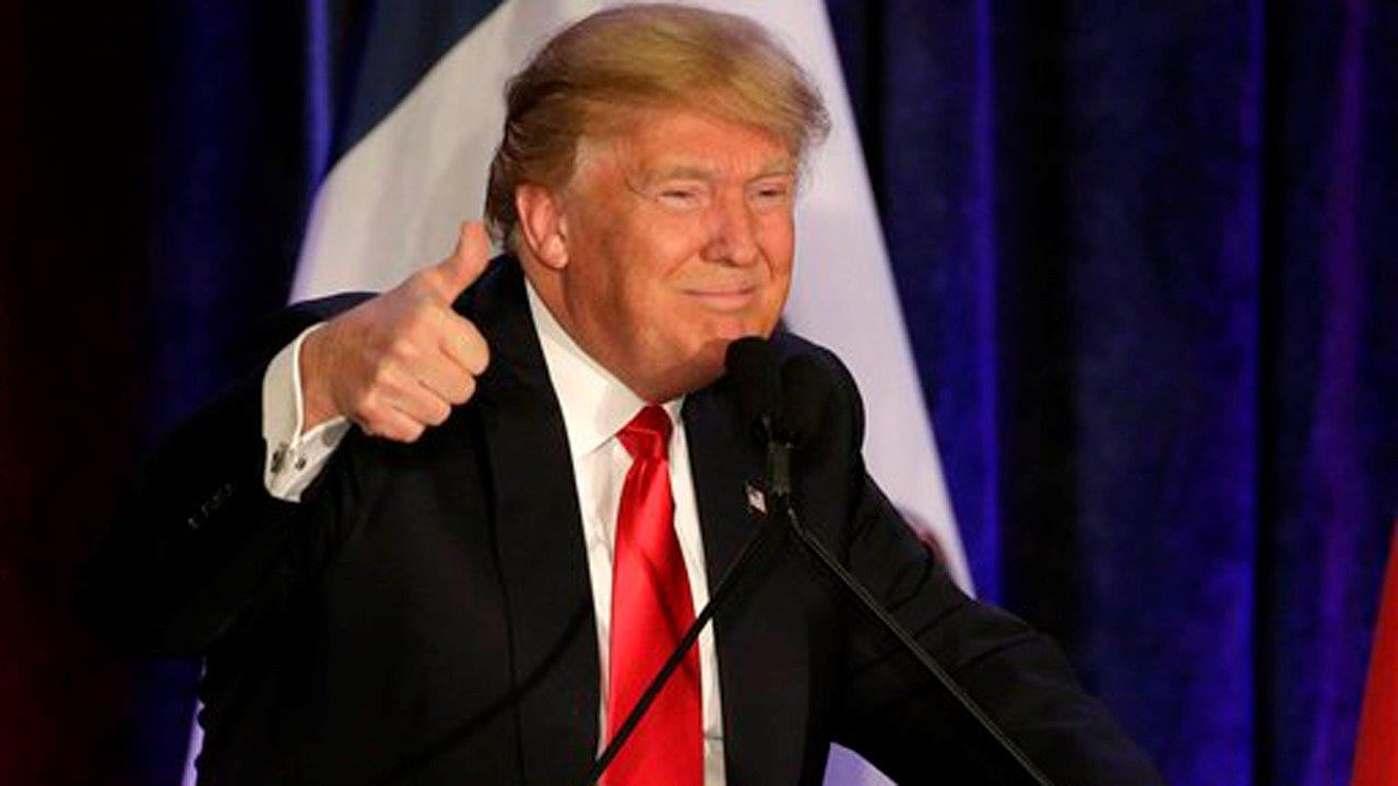 Continental Resources CEO Harold Hamm and The Trump Organization Executive VP Eric Trump on Donald Trump's presidential bid.