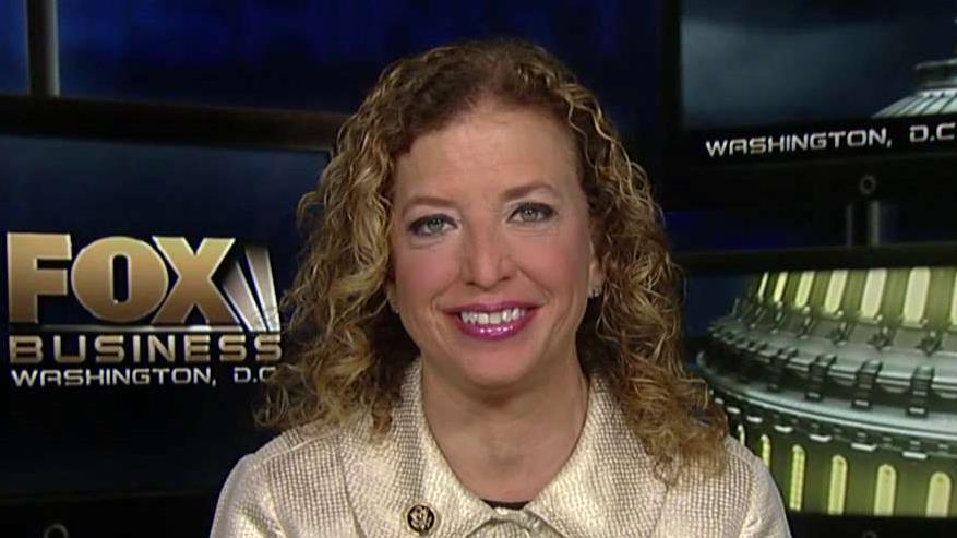 Democratic National Committee Chair Rep. Debbie Wasserman Schultz on the election and Bernie Sanders' campaigns accusations that Hillary Clinton is benefitting unfairly by her ties to the DNC.