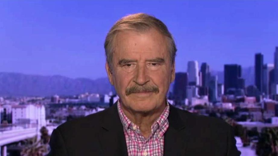 Former Mexican President Vicente Fox explains why he apologized to Donald Trump.