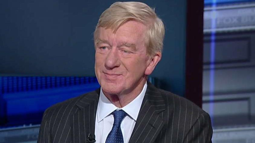Fmr. Republican Massachusetts Governor Bill Weld discusses joining a third-party ticket in the 2016 election.
