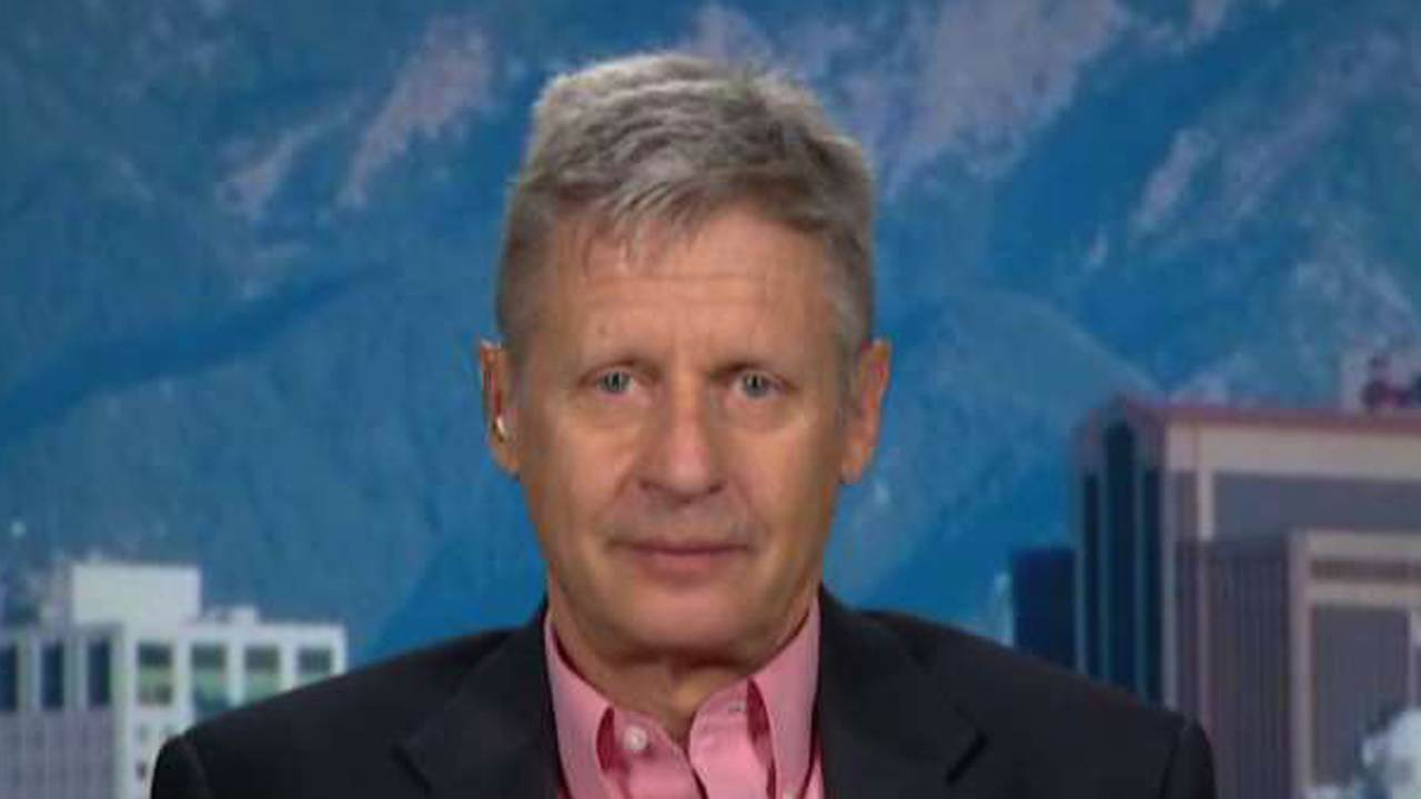 2016 Presidential Candidate Former Governor Gary Johnson on the Libertarian vote.