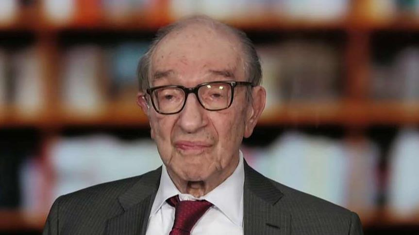 Former Federal Reserve Chairman Alan Greenspan discusses the long-term economic growth problems in both Europe and the United States.