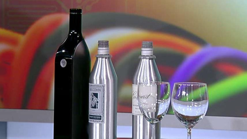 Kuvee CEO Vijay Manwani on the company's smart bottle to keep wine fresh.