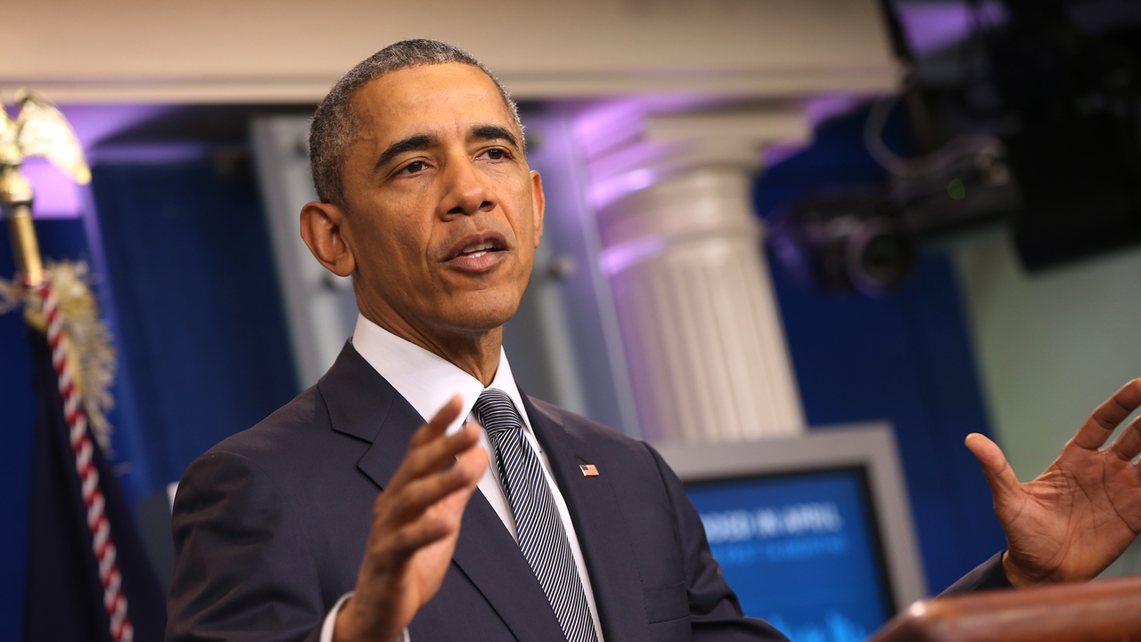 President Barack Obama calls for Congress to reform the U.S. tax code.