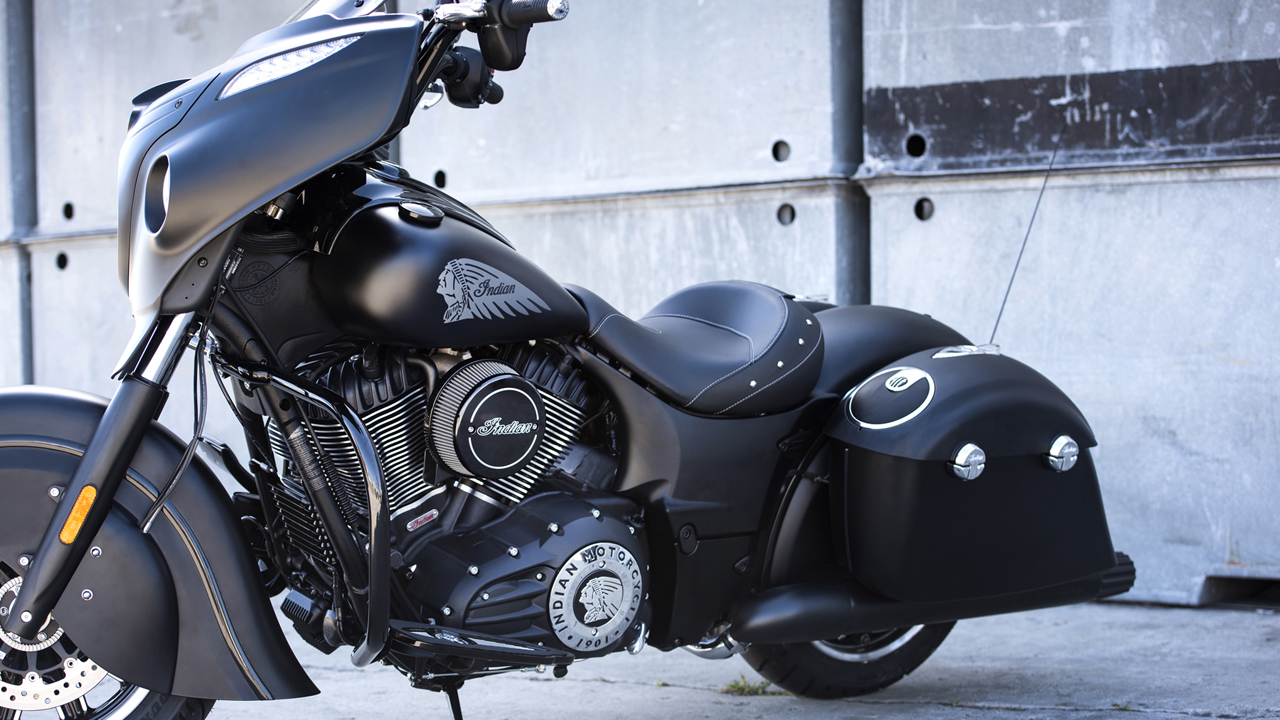 Polaris President of Motorcycles Steve Menneto talks to FOXBusiness.com about the Indian Chieftain Dark Horse, the brand's newest weapon as it fights Harley-Davidson for the attention of riders.