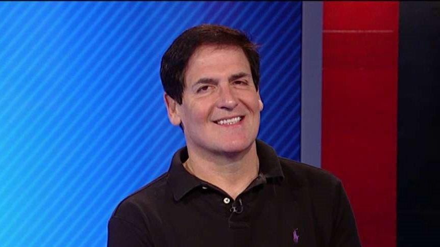 Dallas Mavericks Owner Mark Cuban discusses why he would make a good pick for vice president.