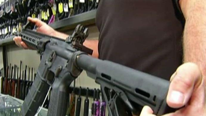 Jay Wallace, owner of Georgia gun store Adventure Outdoors, discussed an increase in gun sales after the Orlando nightclub attack on Sunday.