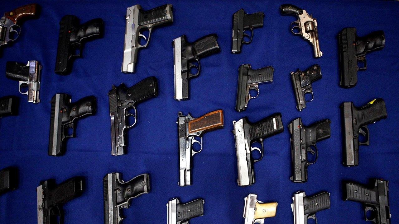 Gun range owner Jan Morgan on the factors driving the rise in gun sales in America.