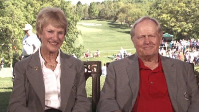 Jack and Barbara Nicklaus share their personal story behind their charity and golf career.