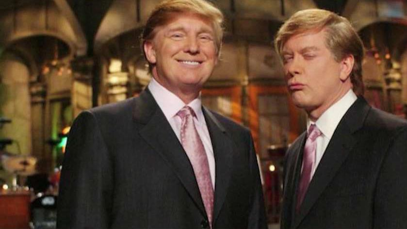 'Saturday Night Live' former cast member Darrell Hammond on meeting Donald Trump after he impersonated the Republican presidential candidate.