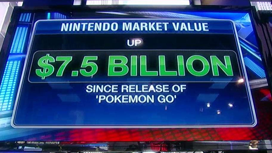 FBN's Deirdre Bolton discusses the surge in Nintendo's share price in the days following the company's release of its Pokemon Go app.