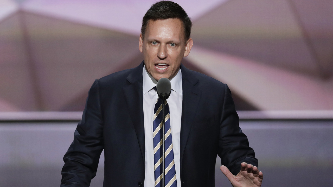 PayPal co-founder Peter Thiel on the U.S. economy.