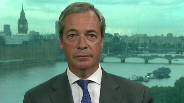 Nigel Farage, former UKIP leader, discusses why he left his role after the Brexit 'leave' vote won, and his views on the new British Prime Minister Theresa May