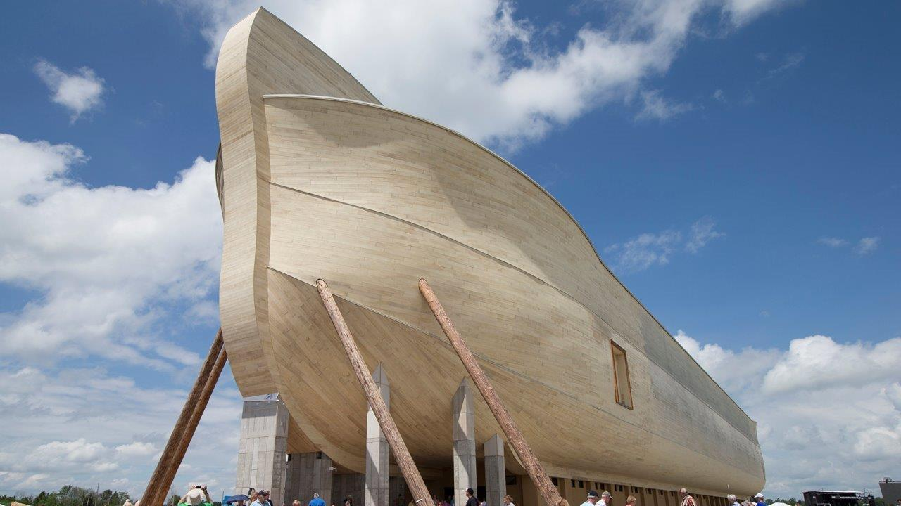Answers in Genesis CEO Ken Ham on the 510-foot replica of Noah's Ark built in Kentucky.