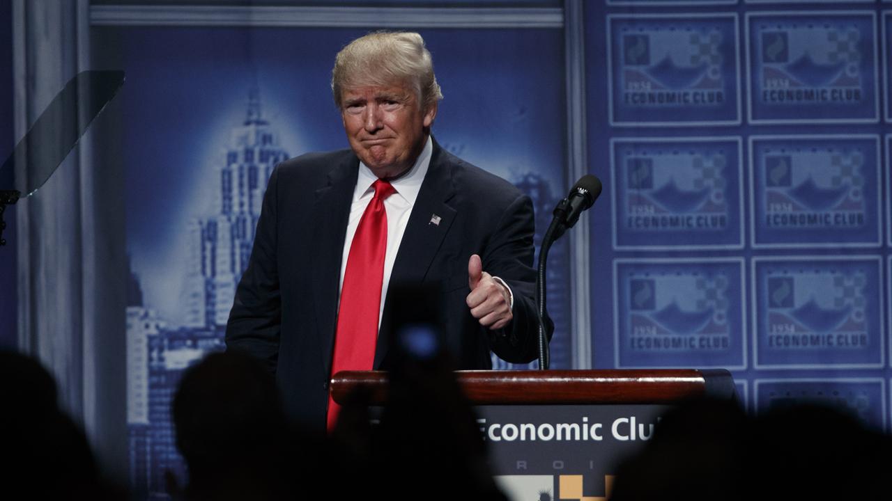 Trump campaign senior trade advisor and former Nucor CEO Dan DiMicco discusses Donald Trump's economic plan.