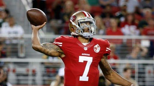 Former NFL quarterback Joe Theismann discusses how San Francisco 49ers quarterback Colin Kaepernick's reluctance to stand during the National Anthem could impact his career.