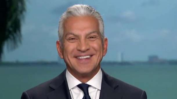 U.S. Hispanic Chamber of Commerce president & CEO Javier Palomarez on Donald Trump's immigration policy shift.