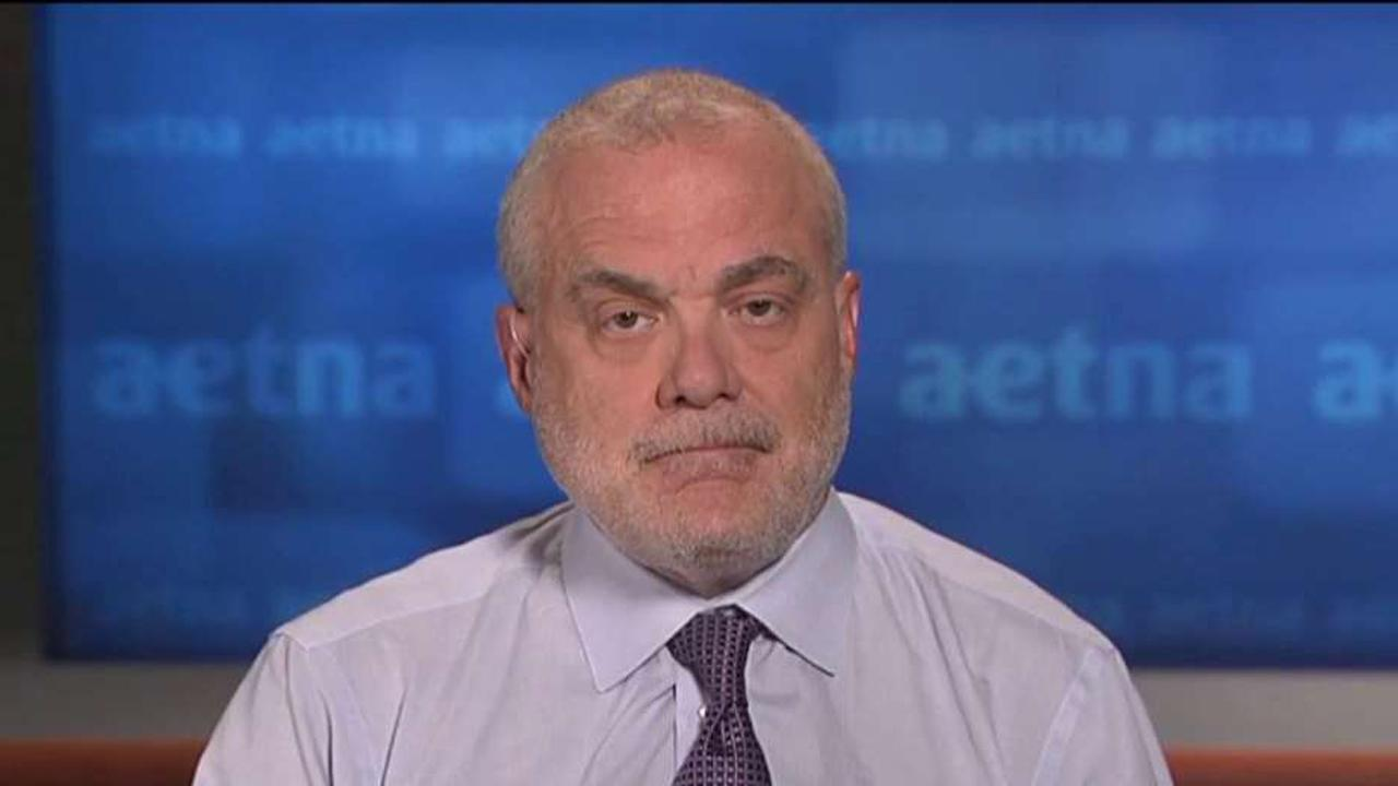 Mark Bertolini, Aetna chairman and CEO, discusses the company's biggest challenges with the Affordable Care Act, and why the insurance provider plans to withdraw from all 2017 public exchange expansion plans.