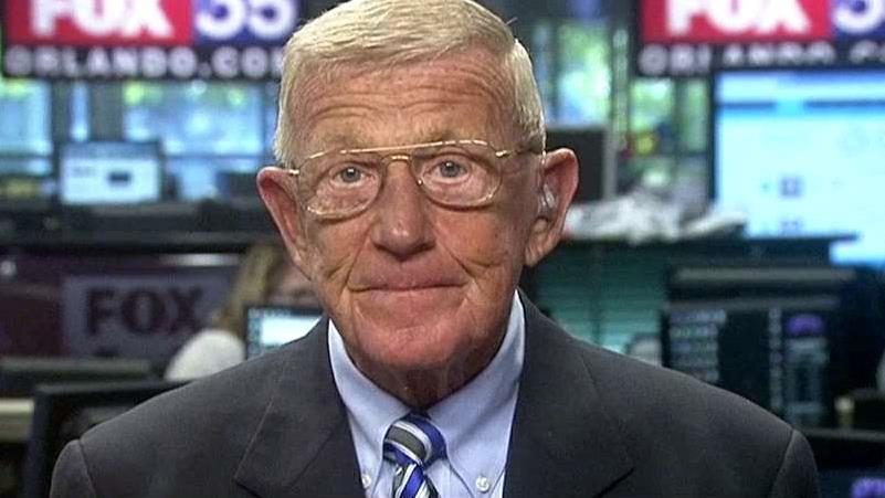 Former Notre Dame Football Coach Lou Holtz on the 2016 presidential race and the upcoming college football season.