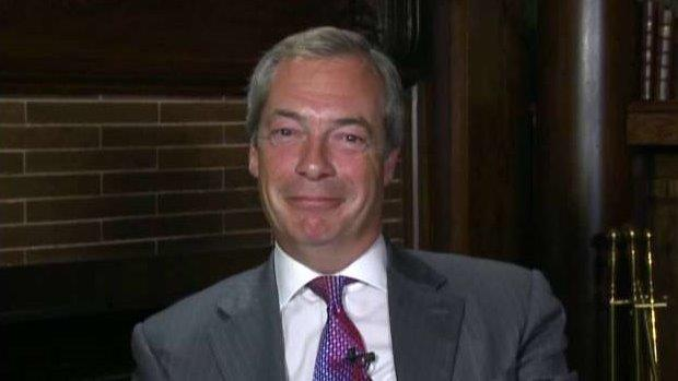 Former UK Independence Party Leader Nigel Farage on campaigning with Donald Trump and the latest on Brexit.