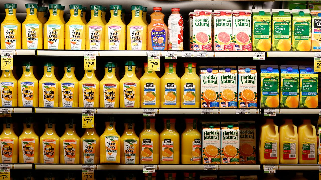 Ingalls & Snyder Investment Management Senior V.P. Roger Corrado on the shrinking market for frozen concentrated orange juice and the decline in food prices for consumers.