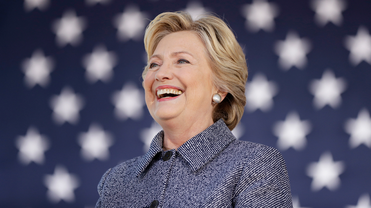 Democratic presidential nominee Hillary Clinton names her favorite world leader and explains why.