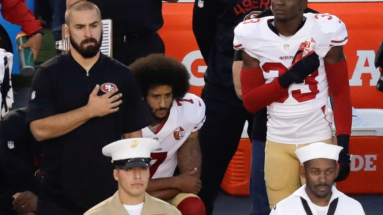 The Brewer Group CEO and former NFL star Jack Brewer on San Francisco 49ers' Colin Kaepernick's decision to protest by not standing during the national anthem.